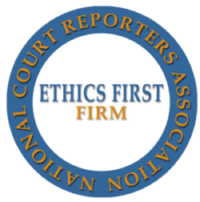 NCRA Ethics First court reporting firm in Jackson, MS