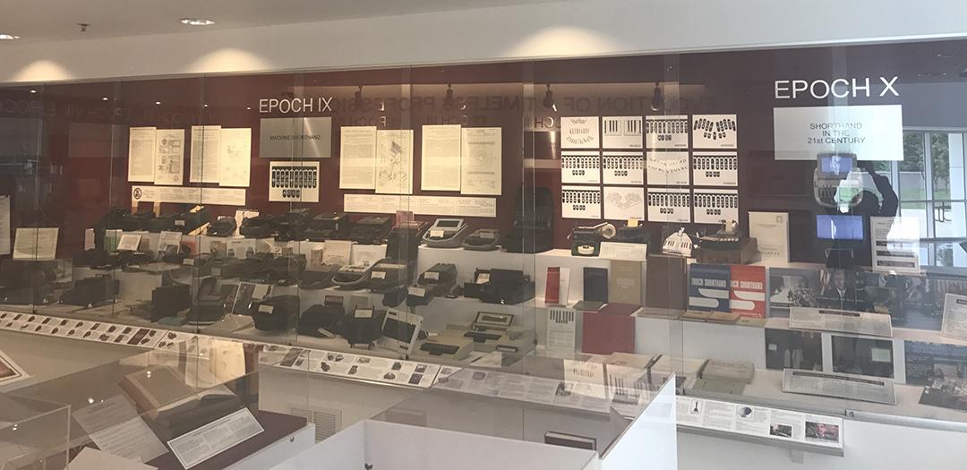 shorthand and Stenotype machines